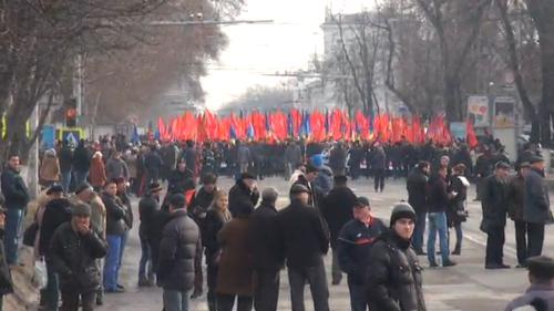 Додон обратился к протестующим: решается судьба Молдовы