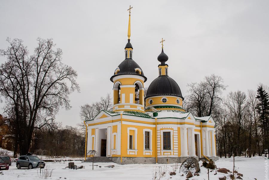Церковь Святой Троицы, церковь Гостилицы
