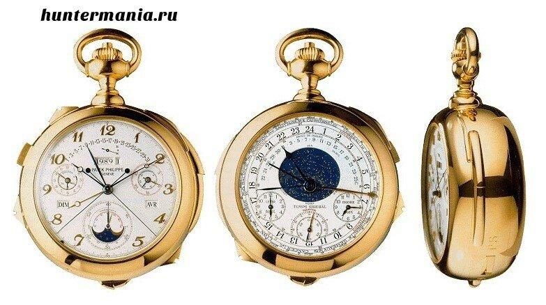 Самые дорогие часы в мире - Patek Philippe Caliber 89