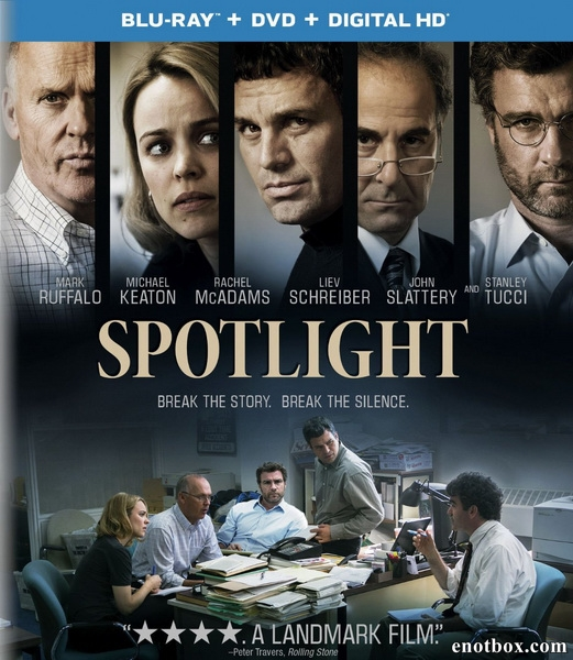 В центре внимания / Spotlight (2015/BDRip/HDRip)