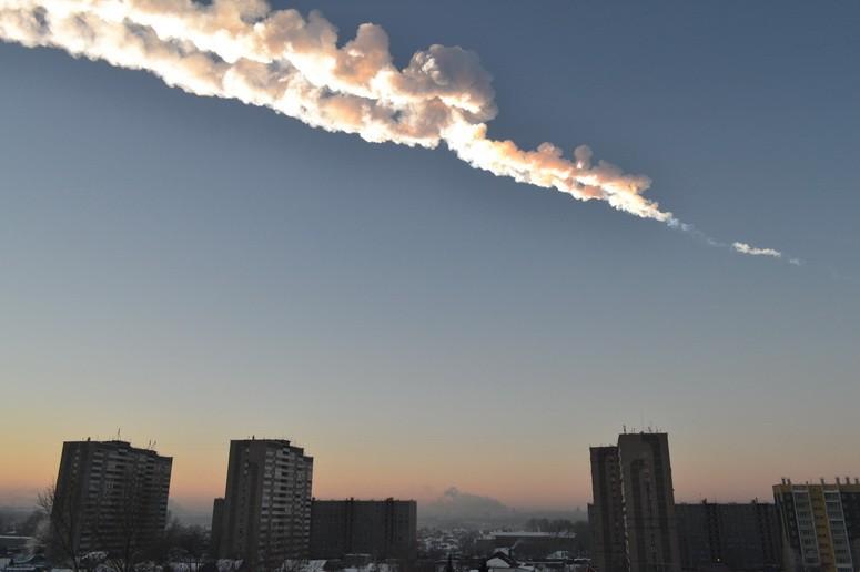 Небо после взрыва (26.03.2013)
