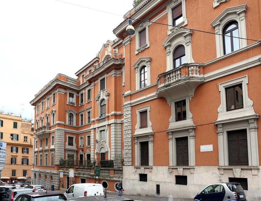 Рим. Площадь Фламинио (Piazzale Flaminio)