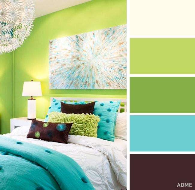 20идеальных сочетаний цветов винтерьере спальни (20 фото)