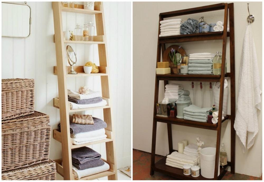 Альтернативой привычным шкафчикам иполкам может послужить удобный стеллаж. Нужно лишь выбрать вариа