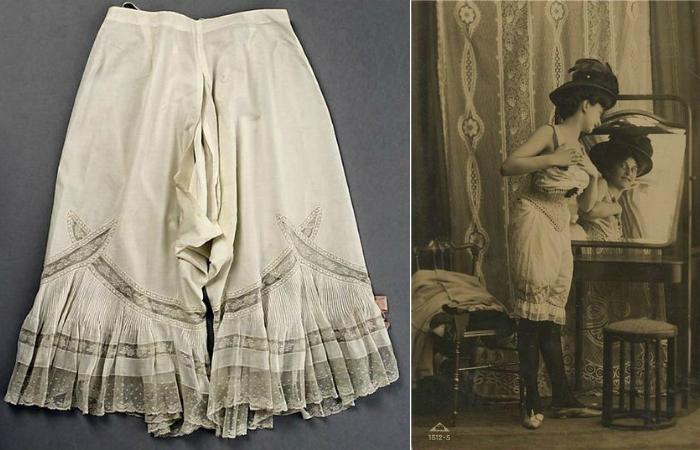 В 19-ом веке в гардеробе каждой уважающей себя дамы были панталоны. С их помощью представительницы п