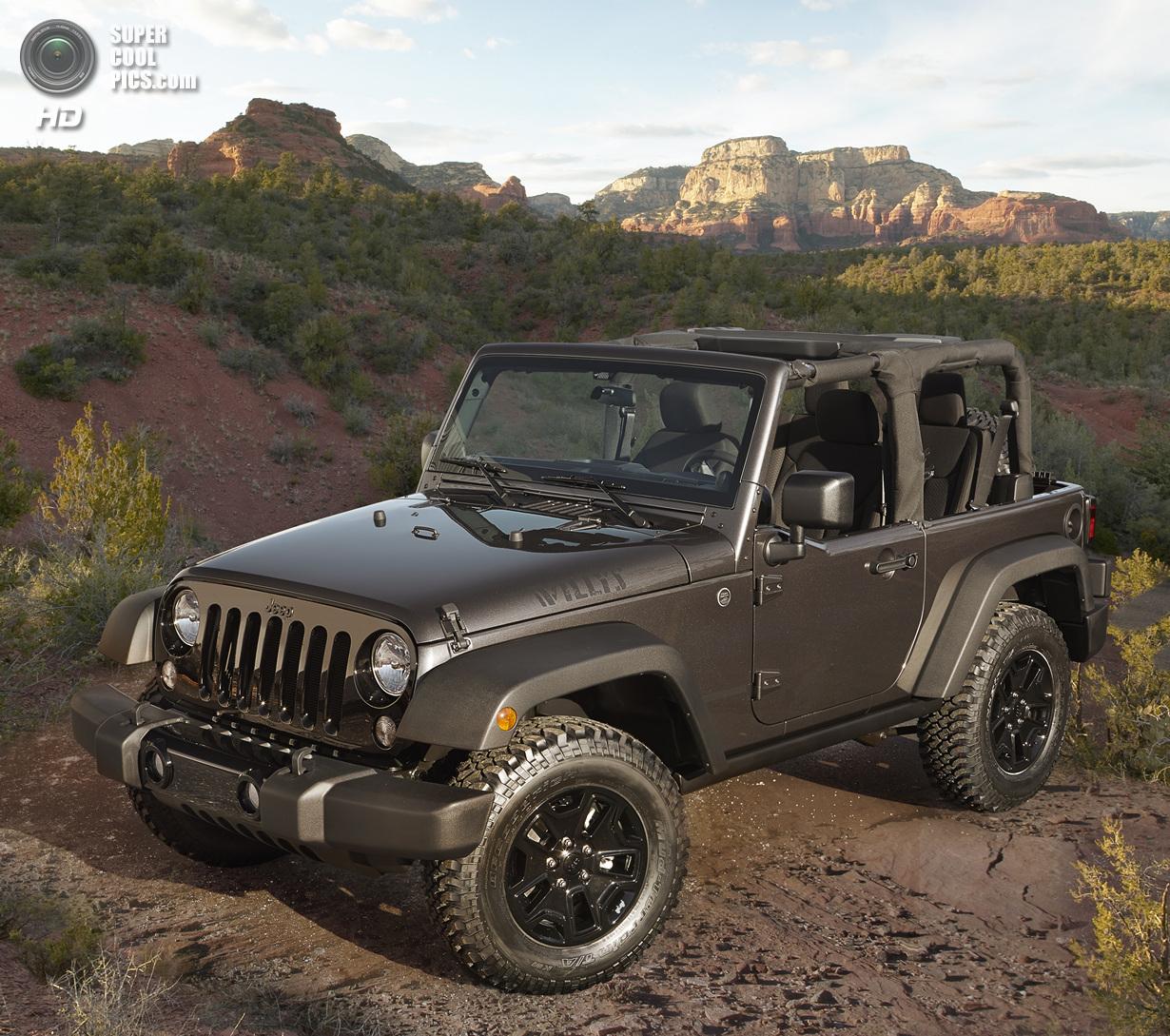 Jeep вспомнила о классических моделях Willys (8 фото)