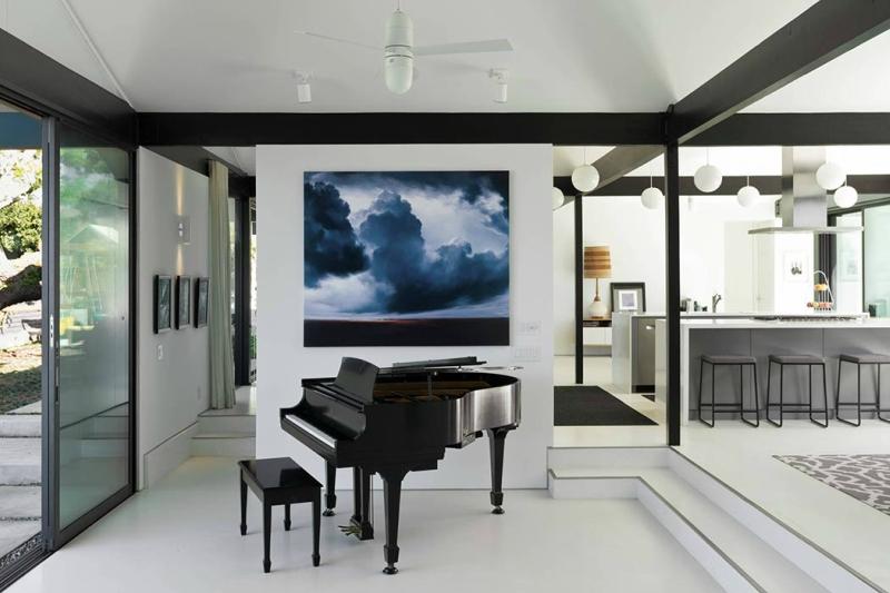 Пианино и рояль в дизайне интерьера фото 8