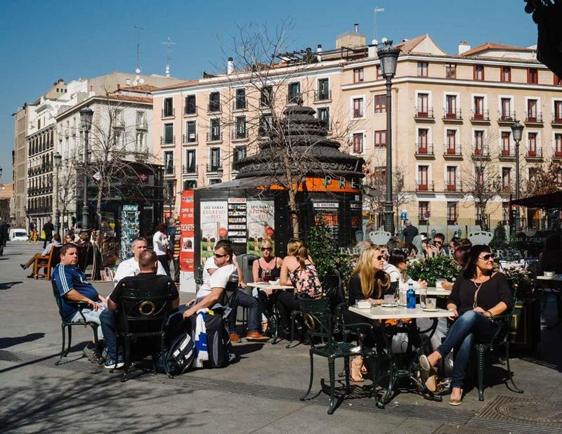 Улицы и архитектура Мадрида фото 23