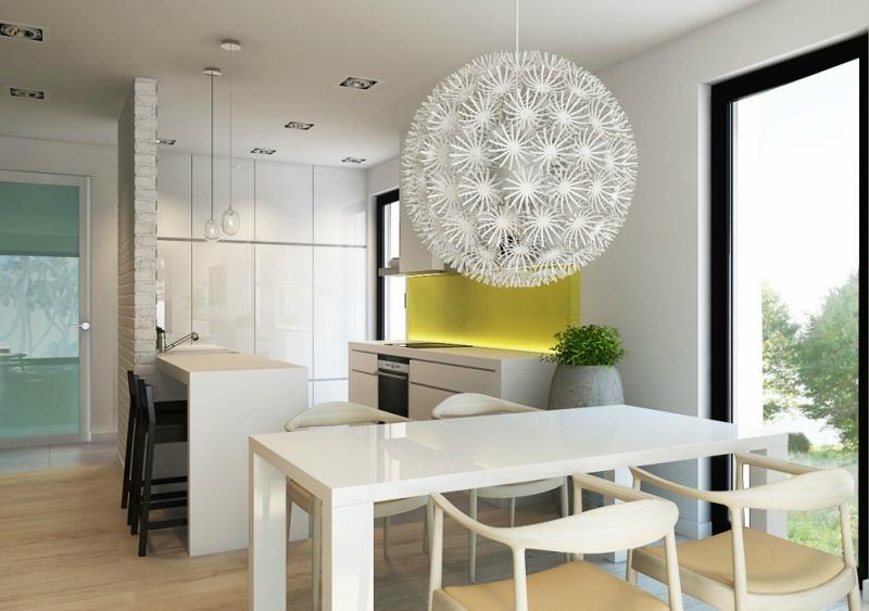 Дизайн интерьера в светлых оттенках фото 19
