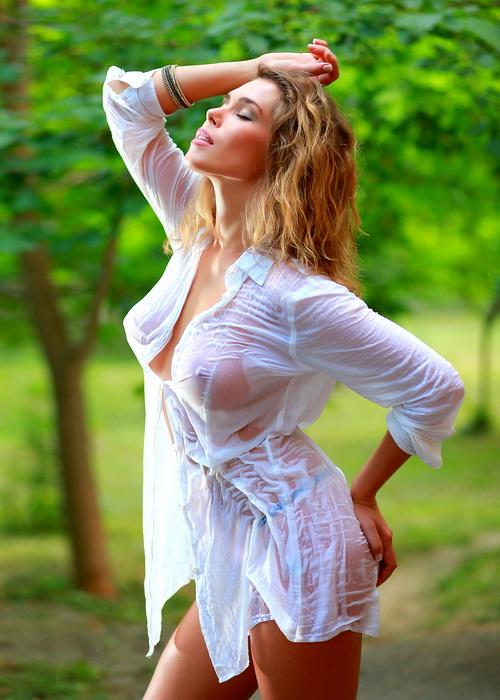 фото в мокром платье