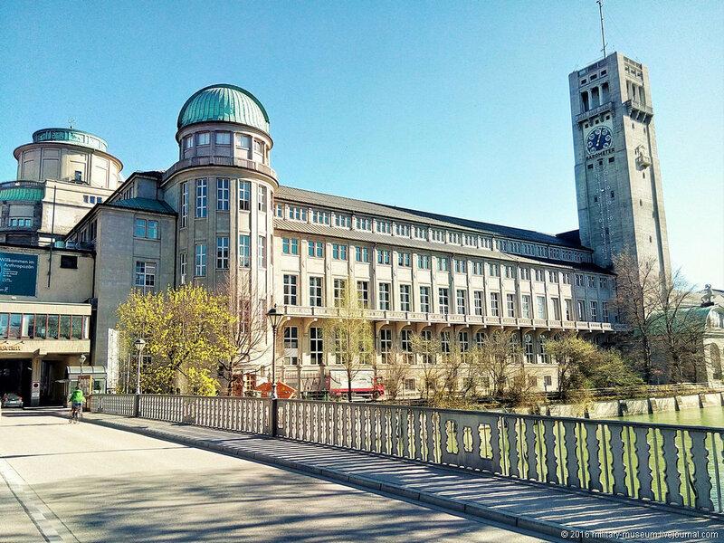 Немецкий музей в Мюнхене - общие виды