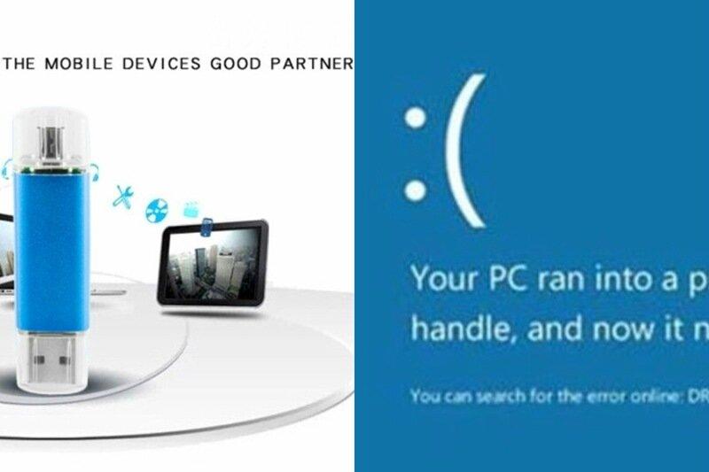 Смартфон на Windows Phone потребовал вставить в него установочный диск