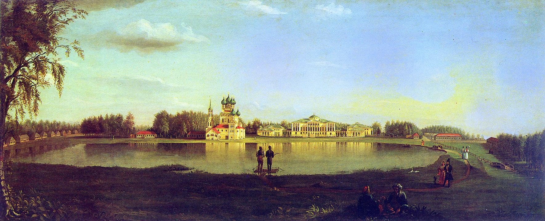 Подключников Николай Иванович (1813—1877) Останкино. Усадьба Шереметевых