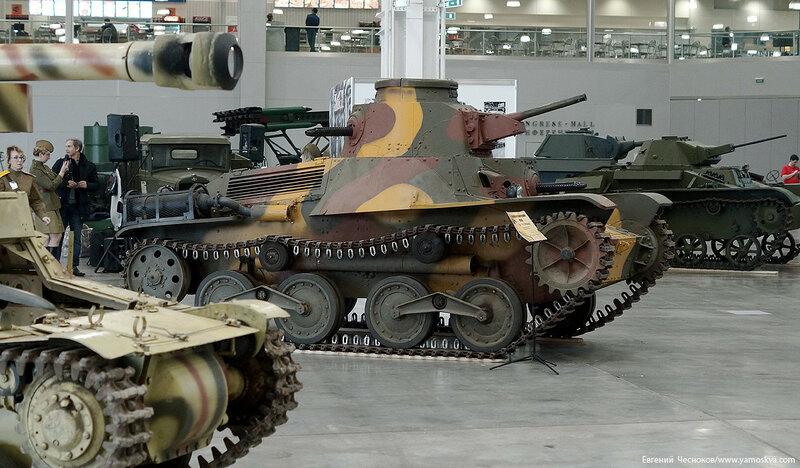 66. Моторы войны. Япония. танк Ха-Го. 18.03.16.02..jpg