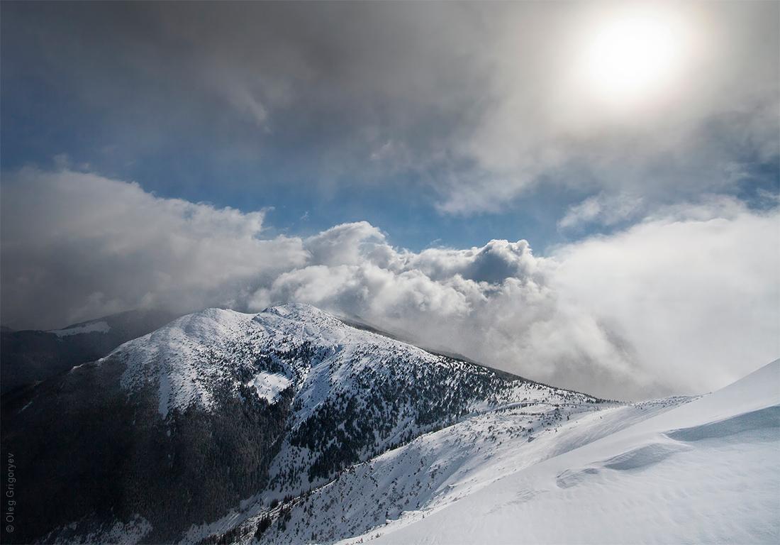 горы Карпаты