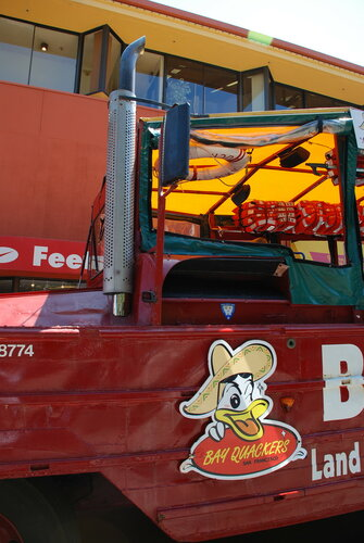 Туристическая машина-амфибия Peking Duck