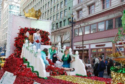 Irish Cultural Center of California на Параде в честь Дня Святого Патрика