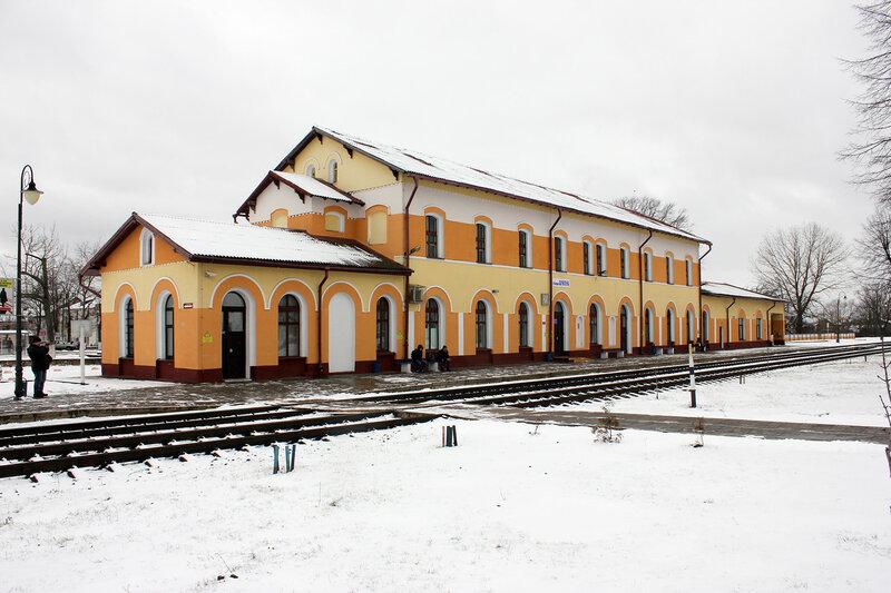 Вокзал на станции Шумилино