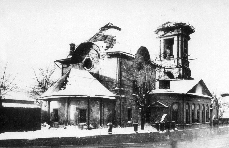 14068 Церковь Покрова Пресвятой Богородицы в Кудрине в процессе разрушения 1936.jpg