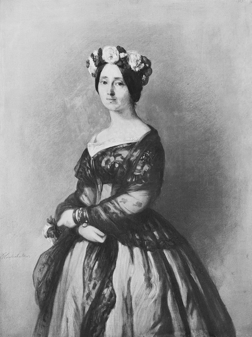 Винтерхальтер (1805-73)Августа Саксен-Веймар, принцесса Пруссии, позже королева Пруссии и немецкая императрица (1811-90)  1 846