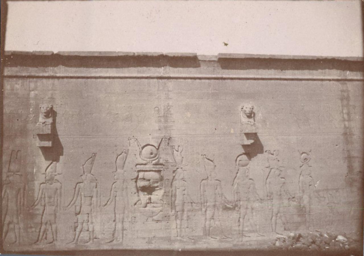 1898. Задняя сторона храма