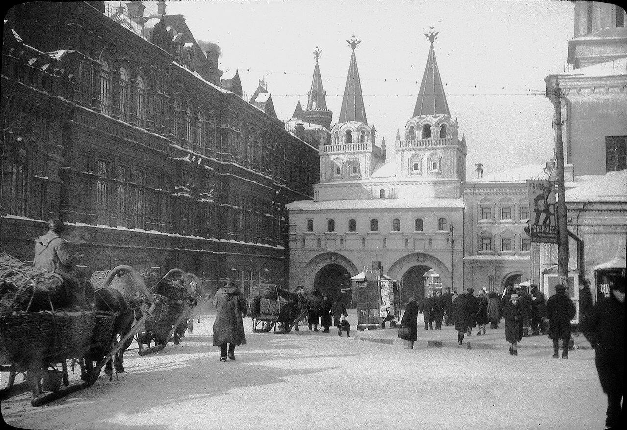 1929. Москва. Иверские ворота
