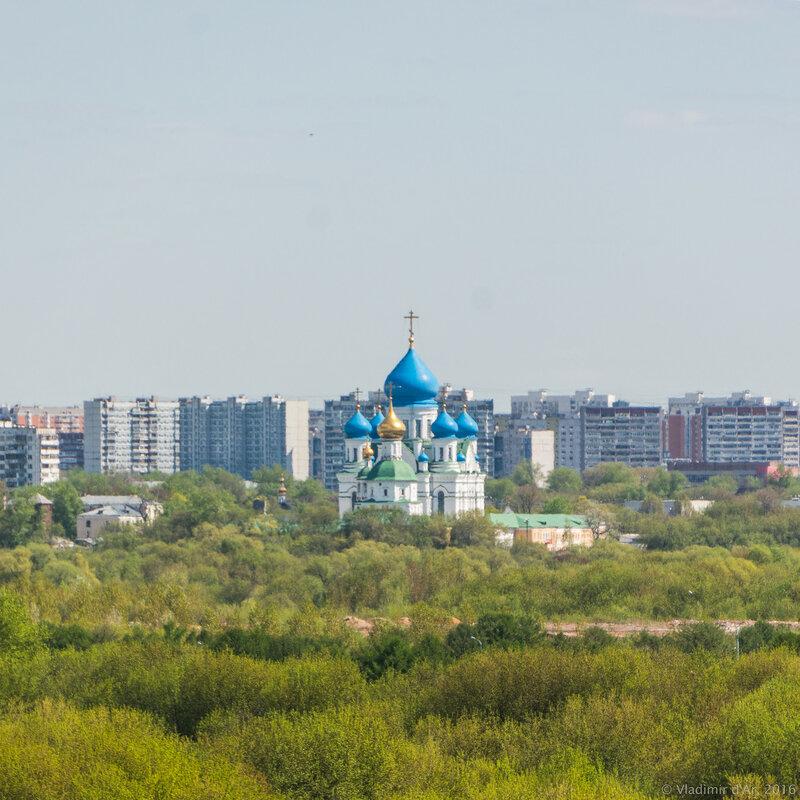 Николо-Перервинский монастырь. Фото из Коломенского.