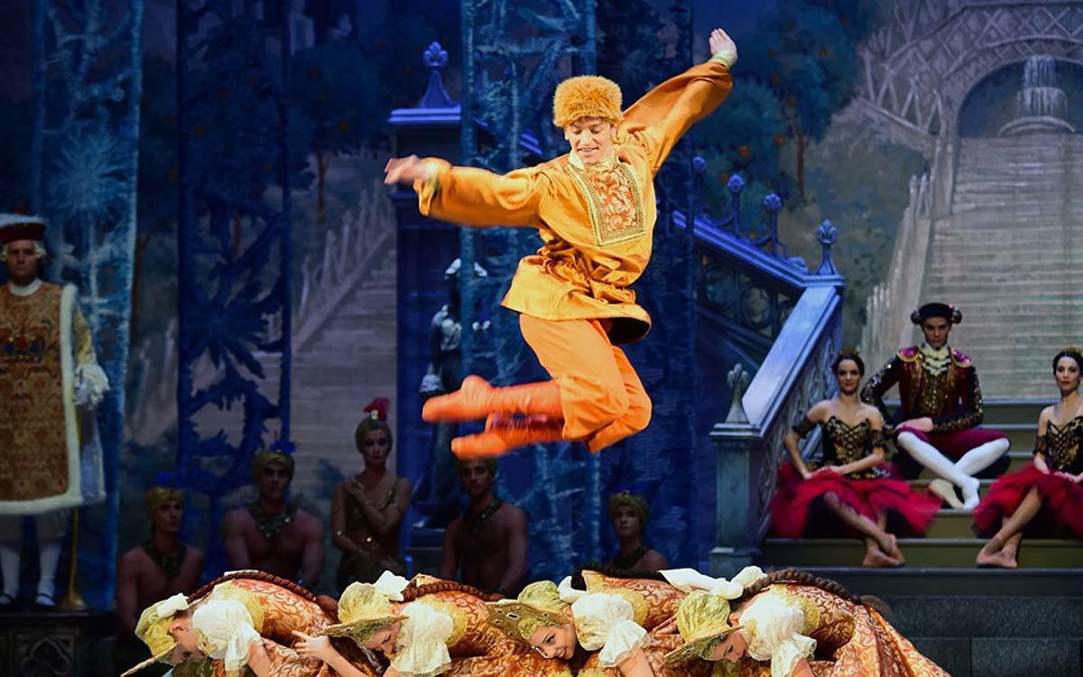 Репетиция Щелкунчика Венгерским Национальным балетом в Будапеште