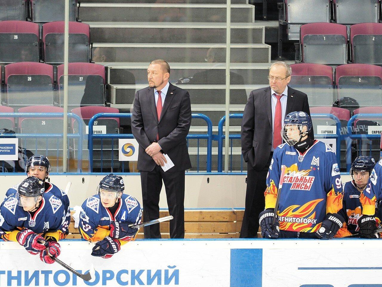 16Плей-офф МХЛ 2016 1/4 Стальные Лисы - Сибирские Снайперы 21.03.2016