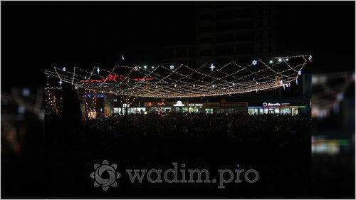 Ренато Усатый объявил Бельцы - Новогодней столицей Молдовы