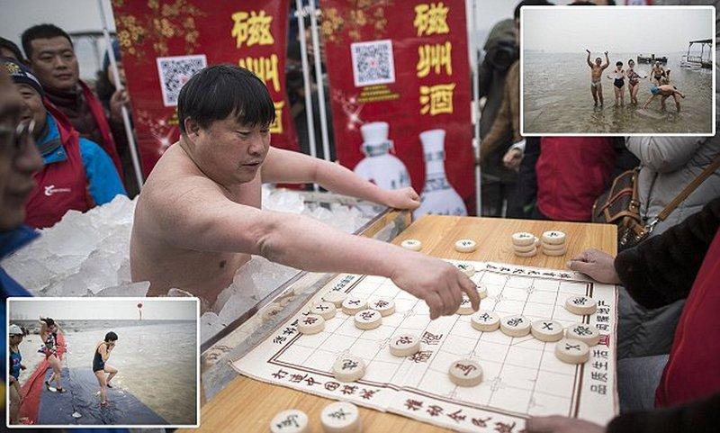 Зимний фестиваль в Китае
