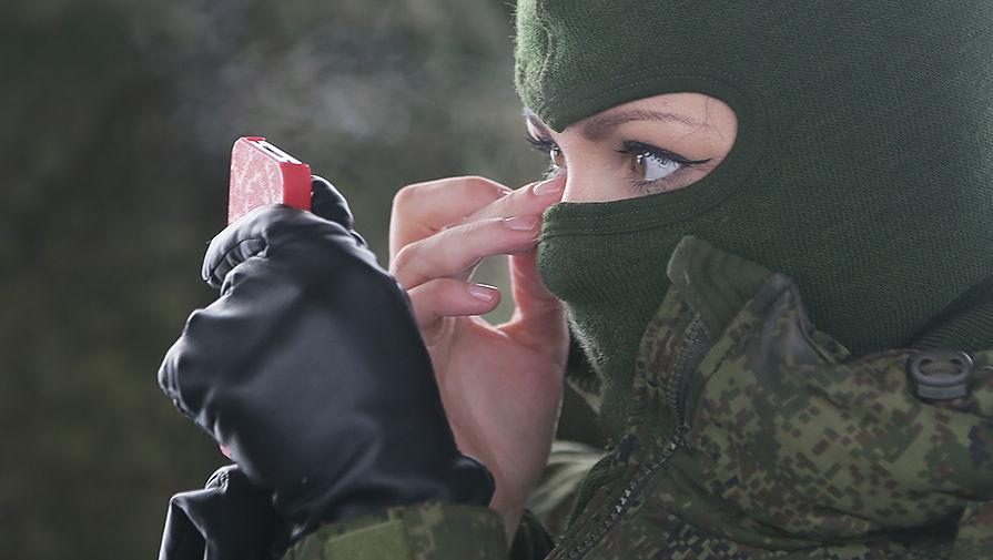 Всероссийский конкурс красоты среди женщин-военнослужащих «Макияж под камуфляж»