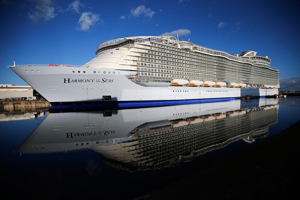 Самые большие круизные лайнеры мира