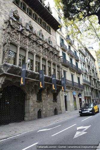 Пешком по Барселоне. Испания