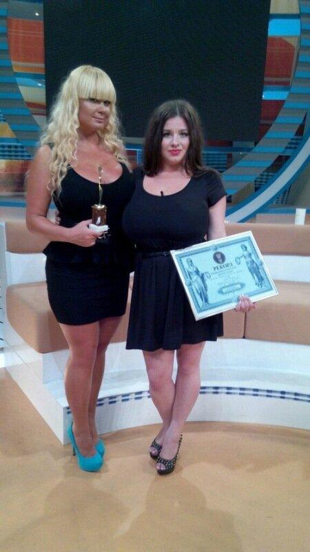 В Полтаве нашли украинку с самой большой грудью в стране