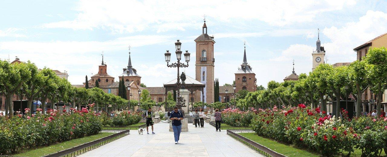 Алькала-де-Энарес. Площадь Сервантеса (Plaza de Cervantes)