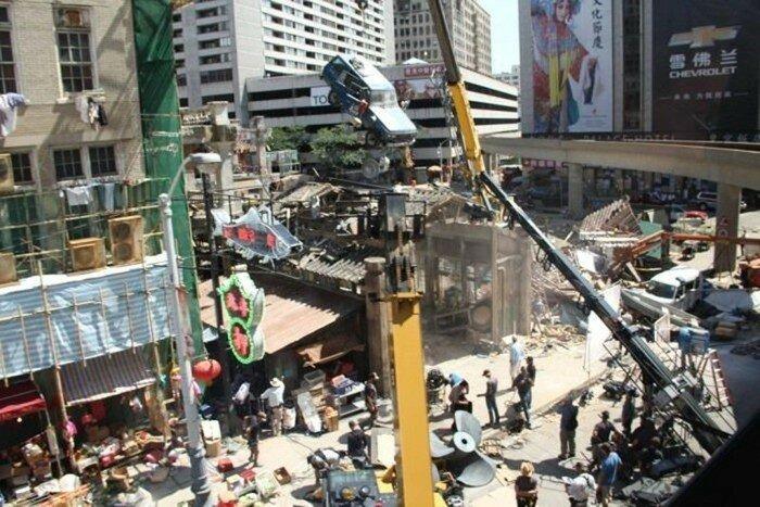 На съемочной площадке фильма «Трансформеры 4: Восстание Гальватрона»