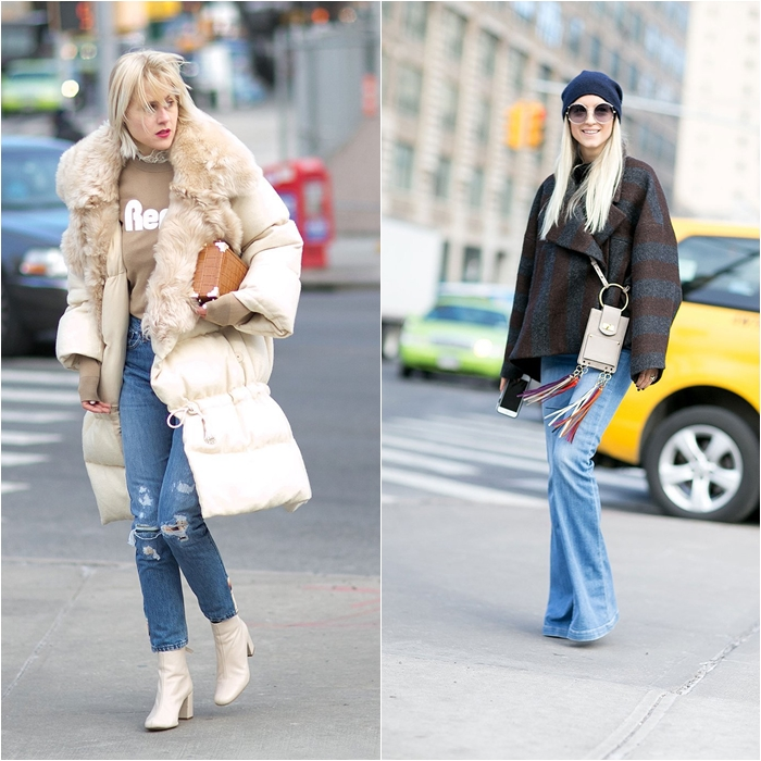 How to Wear Jeans with a Coat: Street Style picture 5