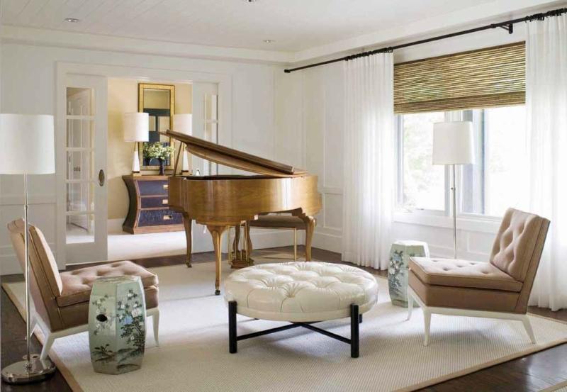 Пианино и рояль в дизайне интерьера фото 4