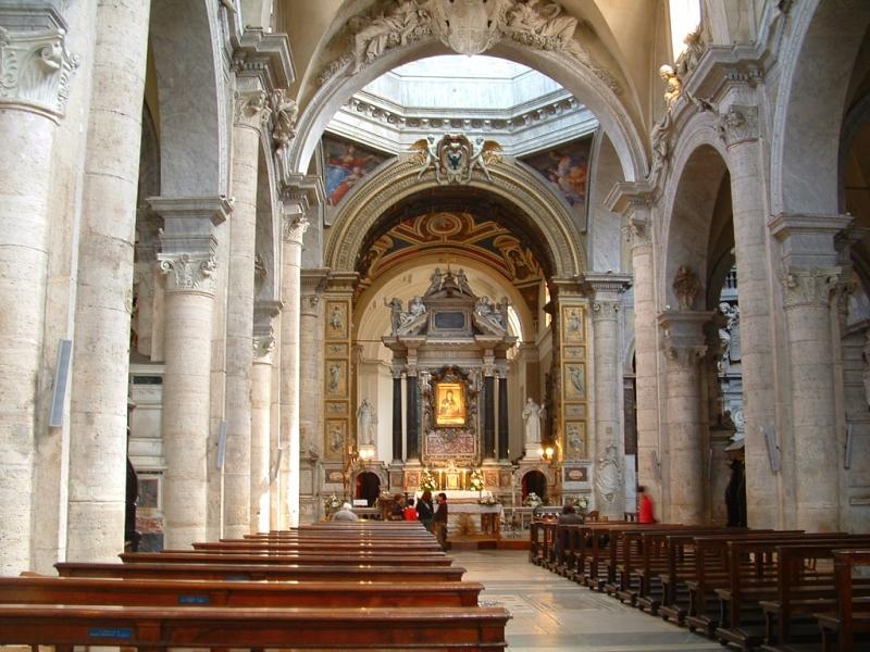 Самые красивые церкви Рима. Базилика Санта-Мария-дель-Пополо