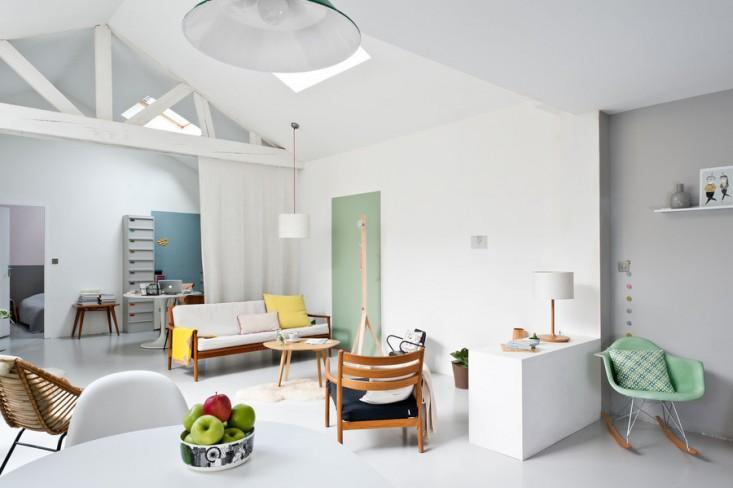 Дизайн интерьера в светлых оттенках фото 27