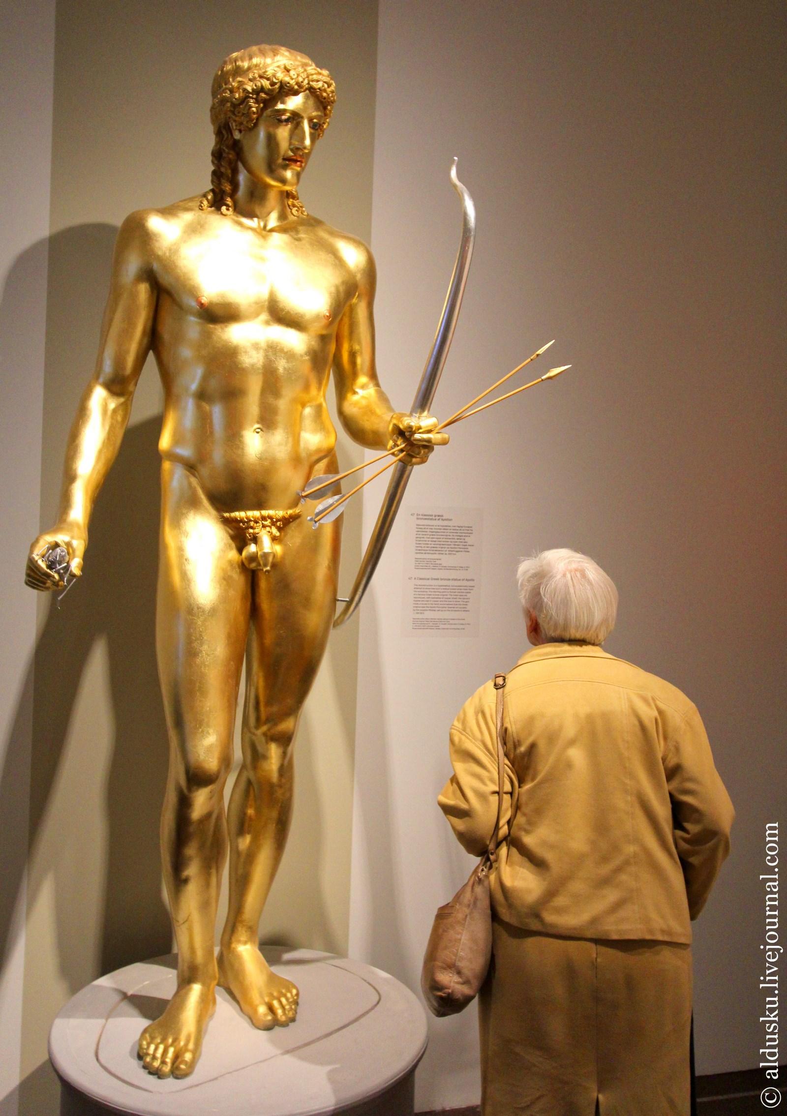 2. Кумиры и поклонники. Классическая скульптура греческого Аполлона