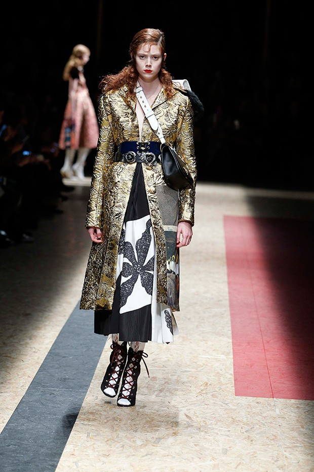 #MFW Prada Fall Winter 2016 Collection - Design Scene - Fashion, Photography, Style & Design