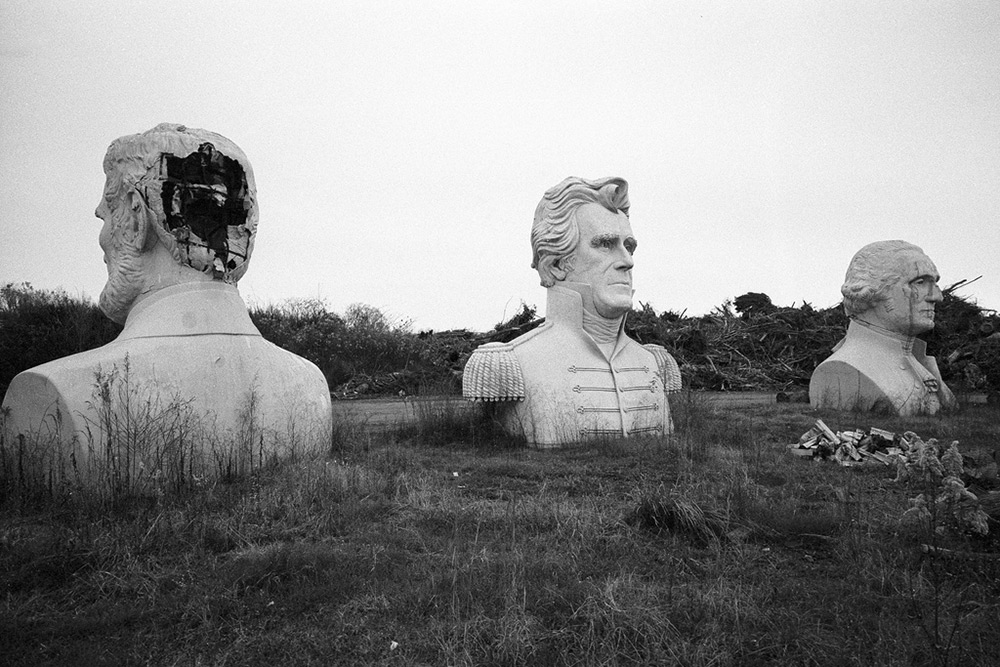 Why Dozens of U.S. President Statues Sit Deteriorating in a Rural Virginia Field
