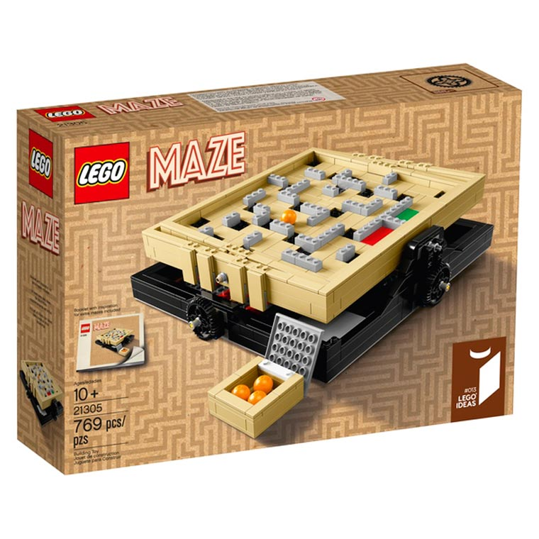 LEGO Maze - Build your own marble maze game with this new awesome set!