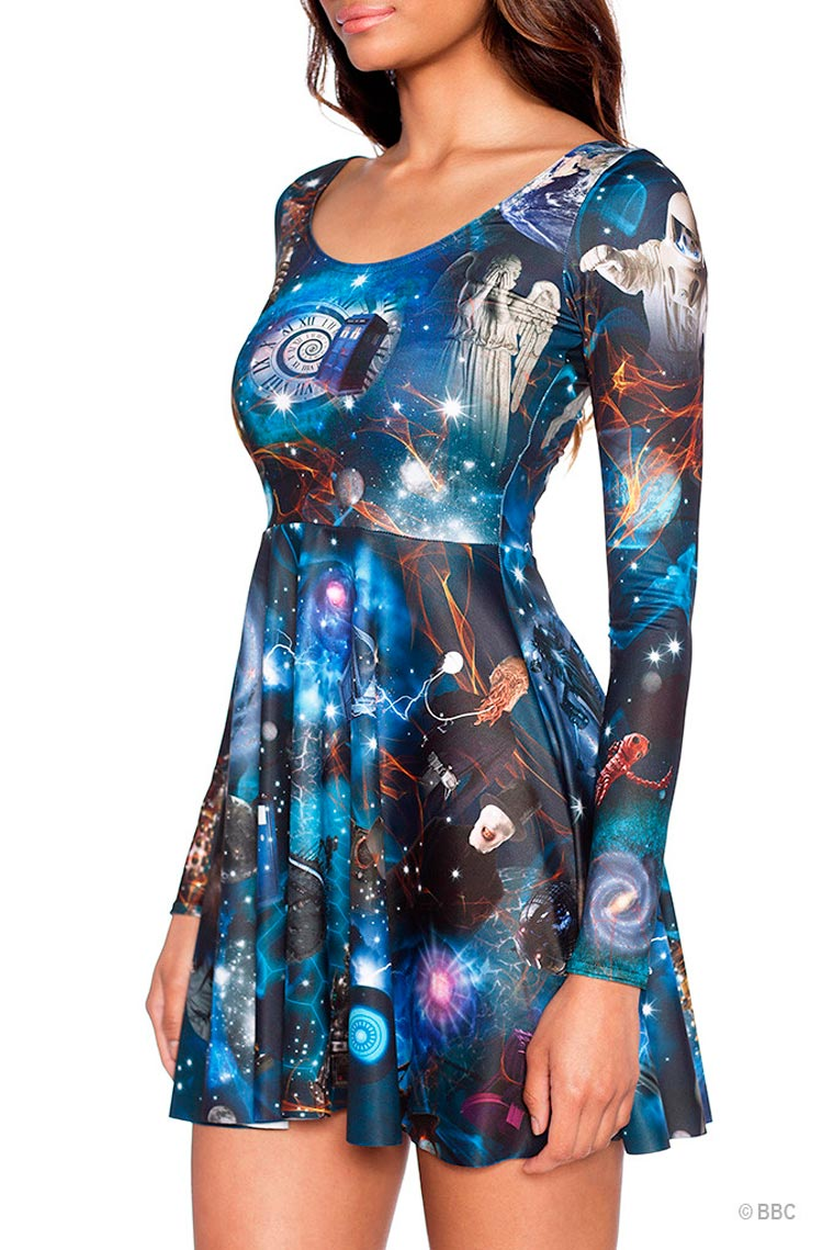 Doctor Who x Black Milk - A collection that will give a thrill to all the fans of the series!