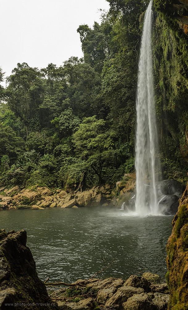 Фото 11. Водопад Misol-Ha расположен недалеко от Паленке. Как к нему добраться? На маршрутке Colectivo, а затем брать такси, чтобы доехать от трассы до достопримечательности. Экскурсии из Канкуна