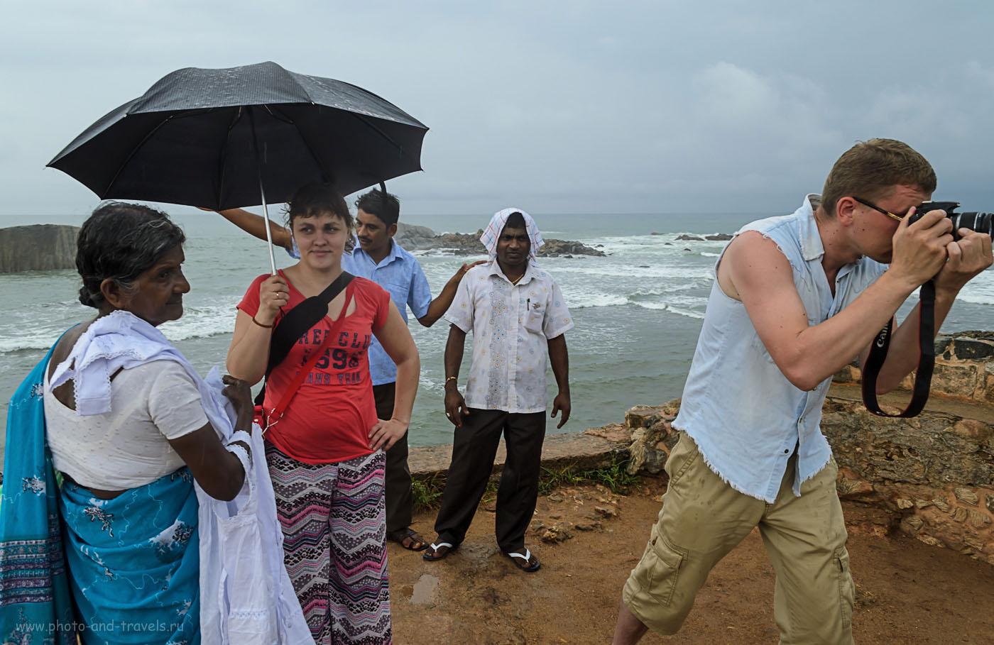 Фото 11. На бастионе у маяка (lighthouse) в форте Галле на Шри-Ланке. Отзывы об отдыхе на острове самостоятельно. Как мы добрались из Хиккадувы в Тиссу на автомобиле.