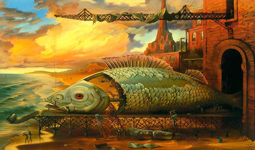 Vladimir Kush - surrealist painter