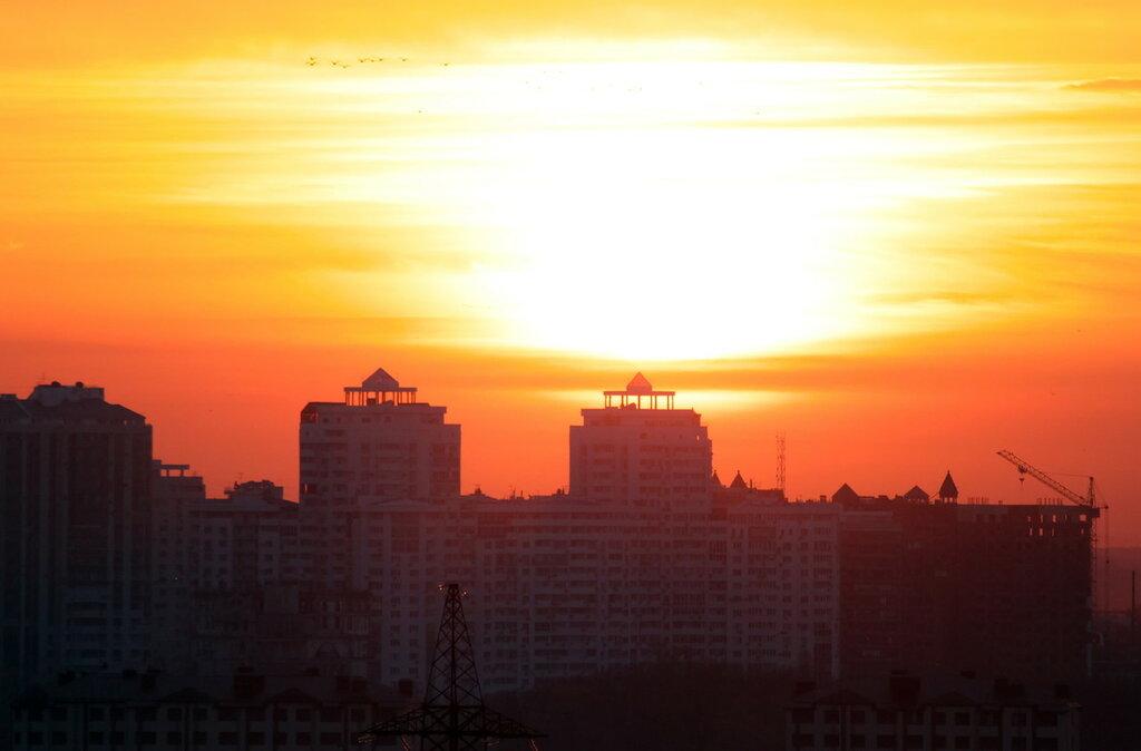 Еще один рассвет над Краснодаром